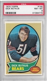 1970 Topps Football Dick Butkus PSA 8 (NM-MT) *4779