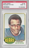 1976 Topps Football #148 Walter Payton PSA 9 (MINT) Rookie *0460