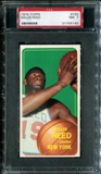 1970/71 Topps Basketball #150 Willis Reed PSA 7 (NM) *5140