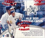 2001 Fleer E-X Baseball Hobby Box