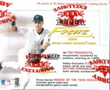 2001 Fleer Focus Baseball Hobby Box