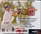2001 Fleer Triple Crown Baseball Hobby Box