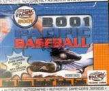 2001 Pacific Baseball Hobby Box