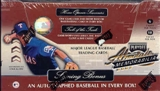 2001 Playoff Absolute Memorabilia Baseball Hobby Box