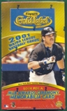 2001 Topps Gold Label Baseball Hobby Box