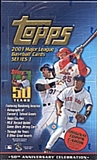 2001 Topps Series 1 Baseball Jumbo Box
