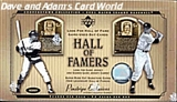 2001 Upper Deck Hall Of Famers Baseball Hobby Box