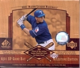2001 Upper Deck SP Game Bat Milestone Edition Baseball Hobby Box
