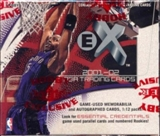2001/02 Fleer Skybox E-X Basketball Hobby Box