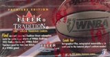 2001 Fleer Tradition WNBA Basketball Wax Box
