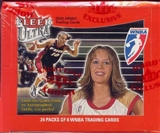 2002 Fleer Ultra WNBA Basketball Hobby Box