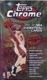 2001/02 Topps Chrome Basketball Hobby Box