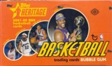 2001/02 Topps Heritage Basketball Hobby Box