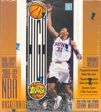 2001/02 Topps High Topps Basketball Hobby Box
