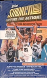 2001/02 Topps Stadium Club Basketball 24 Pack Box