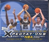 2001/02 Topps Xpectations Basketball Hobby Box