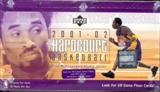 2001/02 Upper Deck Hardcourt Basketball Hobby Box