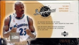 2001/02 Upper Deck Inspirations Basketball Hobby Box