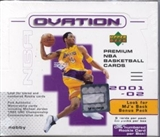 2001/02 Upper Deck Ovation Basketball Hobby Box