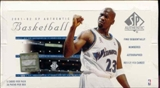 2001/02 Upper Deck SP Authentic Basketball Hobby Box