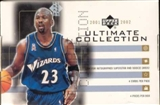 2001/02 Upper Deck Ultimate Collection Basketball Hobby Box