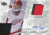 2000/01 Upper Deck e-Card Prizes #ECO Chris Osgood Red Jersey /300