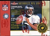 2001 Fleer Authority Football Hobby Box