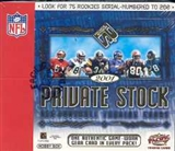 2001 Pacific Private Stock Football Hobby Box