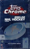 2001/02 Topps Chrome Hockey Hobby Box