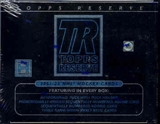 2001/02 Topps Reserve Hockey Hobby Box