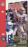 2001 Upper Deck Victory Football Box