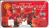 2002 Upper Deck Manchester United Soccer Hobby Box