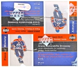 2002/03 Upper Deck Piece Of History Hockey Retail Box