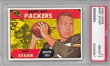 1968 Topps Football Bart Starr PSA 8 (NM-MT) *0437