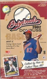 2002 Donruss Originals Baseball Hobby Box