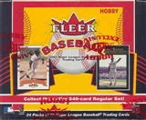 2002 Fleer Baseball Hobby Box
