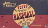 2002 Topps Heritage Baseball 24 Pack Box