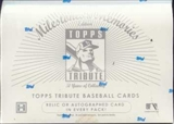 2002 Topps Tribute Milestone Memories Baseball Hobby Box