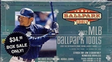 2002 Upper Deck BallPark Idols Baseball 24 Pack Hobby Box (w/o Bobber)