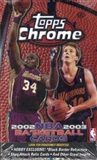 2002/03 Topps Chrome Basketball Hobby Box