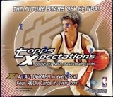 2002/03 Topps Xpectations Basketball Hobby Box