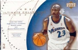 2002/03 Upper Deck Ultimate Collection Basketball Hobby Pack