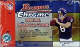 2002 Bowman Chrome Football Hobby Box