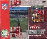 2002 Fleer Throwbacks Football Hobby Box