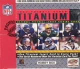 2002 Pacific Private Stock Titanium Football Hobby Box