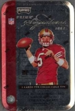 2002 Playoff Prime Signatures Football Hobby 10-Tin Case