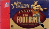 2002 Topps Heritage Football 24 Pack Box
