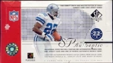 2002 Upper Deck SP Authentic Football Hobby Box