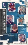 2002/03 ITG Between the Pipes Hockey Hobby Box