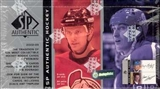2002/03 Upper Deck SP Authentic Hockey Hobby Box